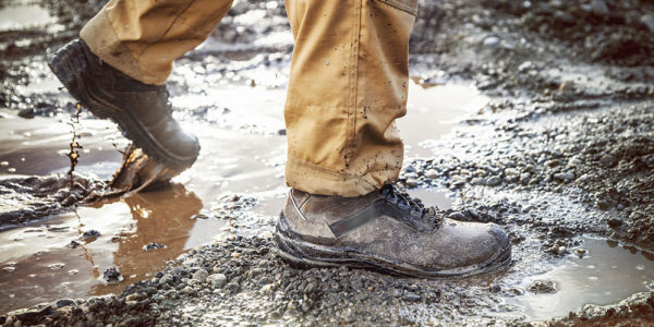 Chaussure de sécurité nettoyage